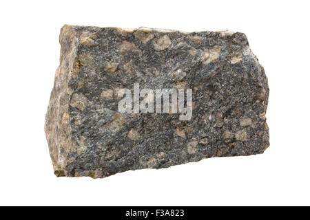 Porphyry (compositionally trachyandesite) - Stock Image