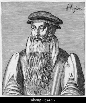 JOHN KNOX (c 1513-1572) Scottish Presbyterian theologian - Stock Image