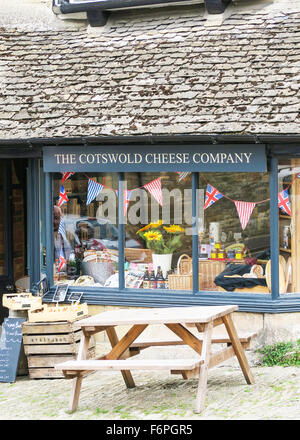 The Cotswold Cheese Company shop in Burford, UK - Stock Image