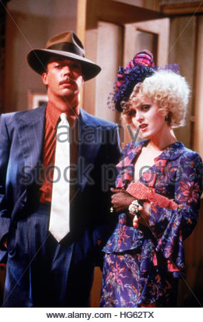 ANNIE (1982) - pictured:  L-R:  Tim Curry and Bernadette Peters.  Editorial use only. - Stock Image