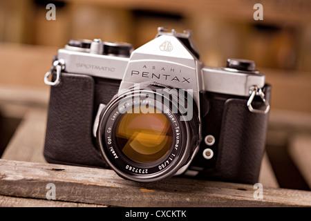 Pentax Honeywell / Asahi Pentax 35mm film camera - Stock Image