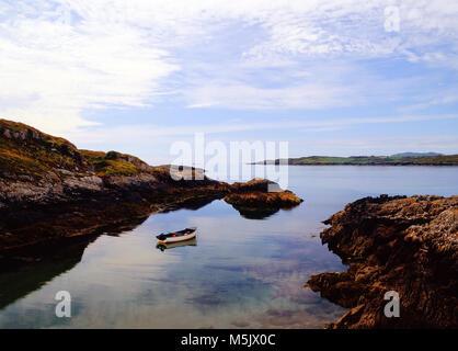 coast bay scenic seascape county cork republic of ireland eu europe - Stock Image