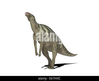Dinosaurier Edmontosaurus / dinosaur Edmontosaurus - Stock Image