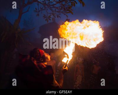Fire Man - Stock Image