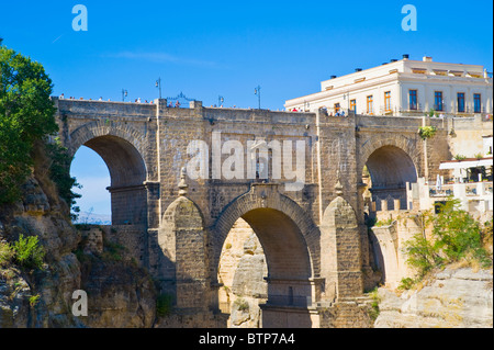 Puento Nuevo, Ronda, Andalucia, Spain - Stock Image