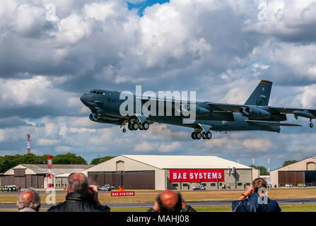 B52 Stratofortess Bomber RAF Fairford - Stock Image