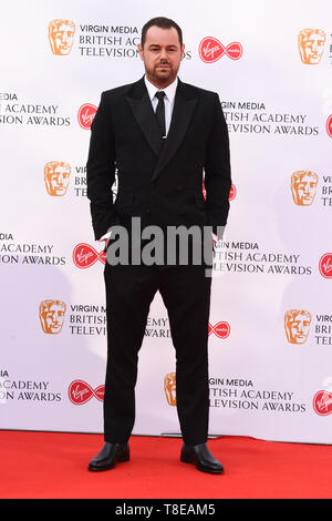 LONDON, UK. May 12, 2019: Danny Dyer arriving for the BAFTA TV Awards 2019 at the Royal Festival Hall, London. Picture: Steve Vas/Featureflash - Stock Image