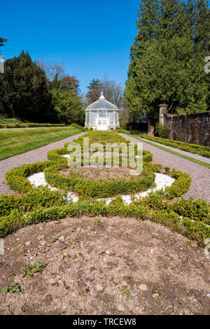 Woodstown Garden is located in the village of Inistiogue in County Kilkenny,Ireland. - Stock Image