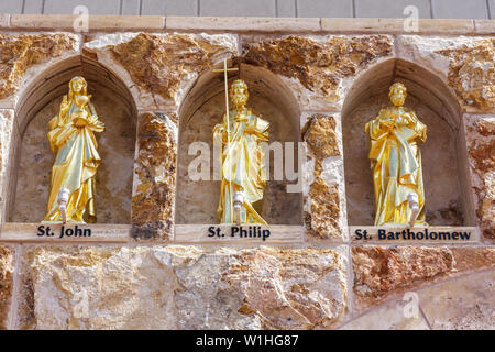 Naples Florida Ave Maria planned community college town Roman Catholic university religion Tom Monaghan founder church oratory F - Stock Image