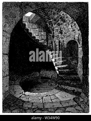 Roman Nymphaeum, ,  (cultural history book, 1875) - Stock Image