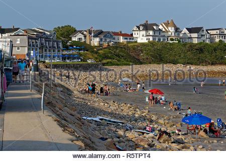 York Beach, Maine, USA - Stock Image