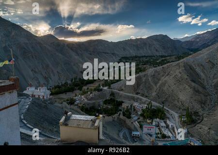 Trekking in Ladakh, Northern India - Stock Image