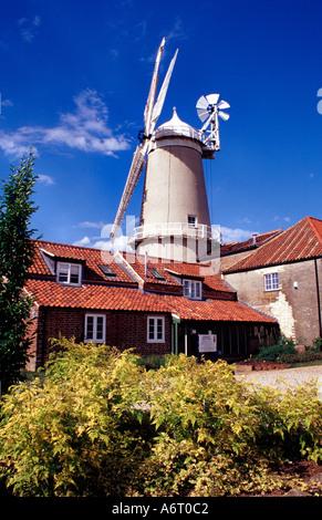 Bircham Windmill Norfolk England UK - Stock Image