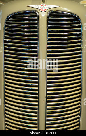 Vintage car grill - Stock Image
