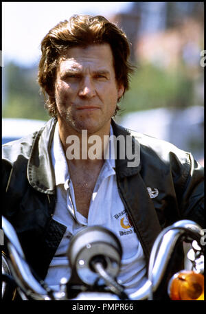 Prod DB © MGM / DR BLOWN AWAY (BLOWN AWAY) de Stephen Hopkins 1994 USA avec Jeff Bridges motard d'apres le scŽnario de John Rice - Stock Image