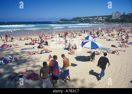 Australia New South Wales Sydney Manly Beach - Stock Image