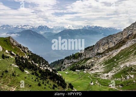 Mount Pilatus Aplnach Switzerland - Stock Image