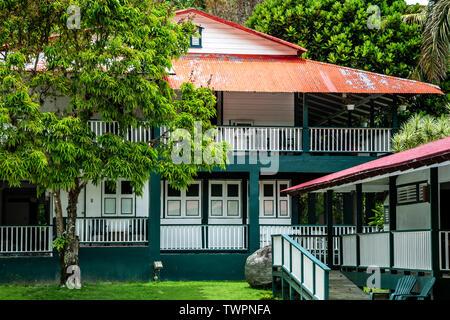 Parador Hacienda Gripiñas, Jayuya, Puerto Rico - Stock Image