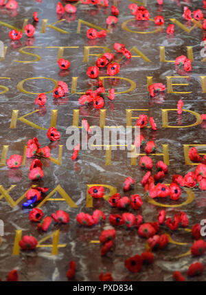 Tomb of the Unknown Solider at Canberra War Memorial - Stock Image