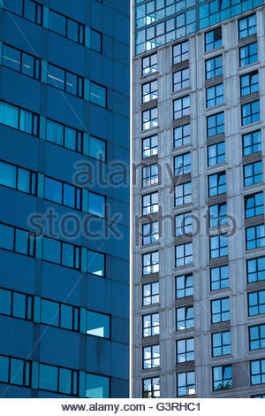 Towers in Rotterdam, Holland. - Stock Image