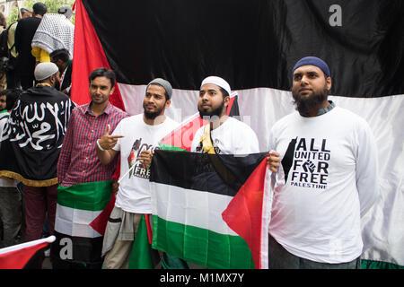 Gaza Demo - Stock Image