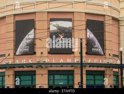 Clark Planetarium, Salt Lake City, Utah - Stock Image