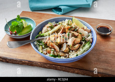 Thai Green curry - Stock Image