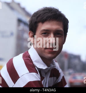 Stephan Schwartz, deutscher Film- und Fernsehschauspieler, Deutschland 1980. German movie and TV actor Stephan Schwartz, Germany 1980. - Stock Image
