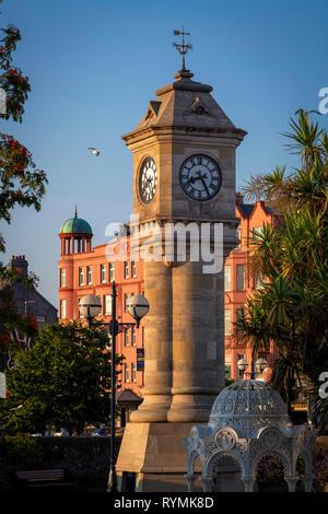 McKee Clock Tower Bangor Northern Ireland - Stock Image