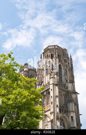 The tower of Toul cathedral, Meurthe-et-Moselle, France, Europe - Stock Image