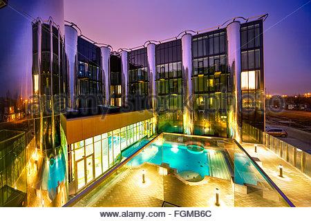 Tallink spa-hotel in Tallinn, Estonia - Stock Image