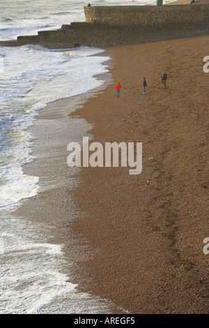 Brighton Beach, Sussex, England, UK - Stock Image