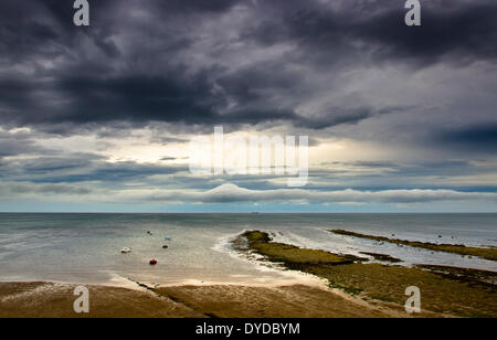 View of Robin Hoods Bay. - Stock Image