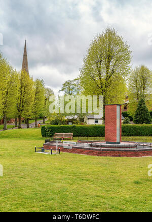 Garden Of Remembrance in Bromsgrove, Worcestershire, England. - Stock Image