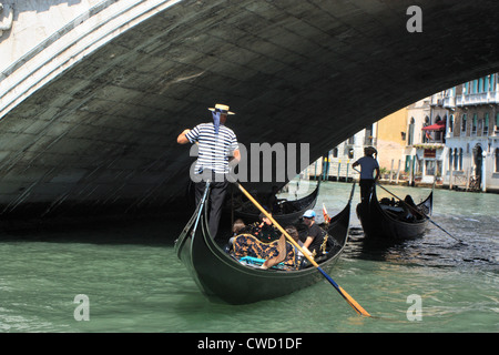 Gondola Venice, Italy - Stock Image