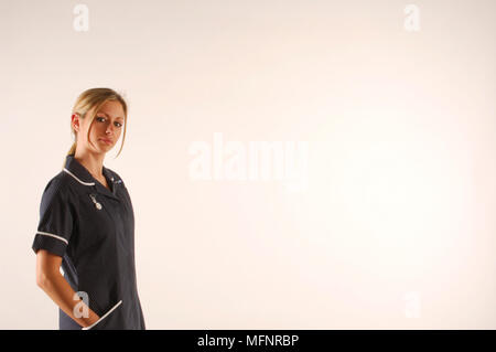 Staff nurse   Ref: CRB425_10046_101  Compulsory Credit: Synercomm/Photoshot - Stock Image