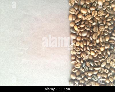 Coffe beans background - Stock Image