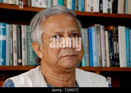 Muhammad Yunus inventor of the microcredits & microfinance, founder Grameen Bank - Stock Image
