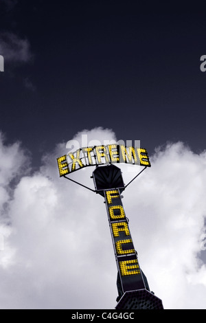 extreme force - Stock Image