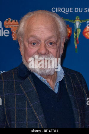 London, United Kingdom. 16 January 2019. Sir David Jason arrives for the red carpet premiere of Cirque Du Soleil's 'Totem' held at The Royal Albert Hall. Credit: Peter Manning/Alamy Live News - Stock Image