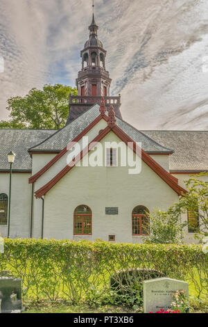 Church At The Sunnmore Museum, Alesund, Norway - Stock Image