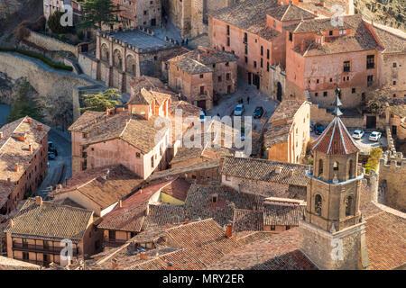 Albarracin, Teruel, Aragon, Spain, Europe - Stock Image