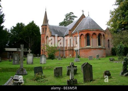 St Mary Magdalene Church, Latimer, Buckinghamshire, UK - Stock Image