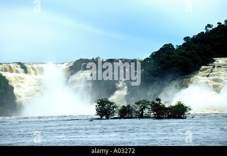 Waterfalls Canaima - Stock Image