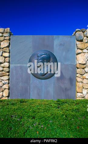 John F Kennedy Memorial in Hyannis. Cape Cod, Massachusetts - Stock Image