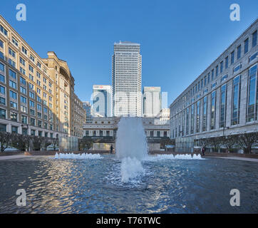 1 canada square - Stock Image