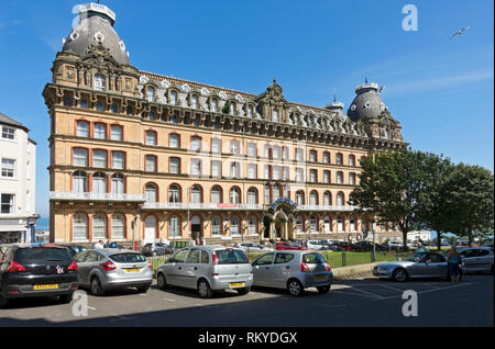 The Grand Hotel in Scarborough. - Stock Image