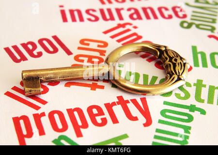 Property and key concept - Stock Image