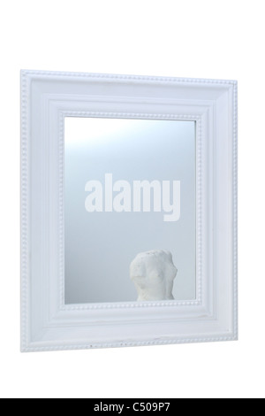 mirror reflection frame - Stock Image