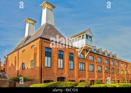 Former Site Of Henley Brewery, Henley On Thames, Oxfordshire, UK - Stock Image